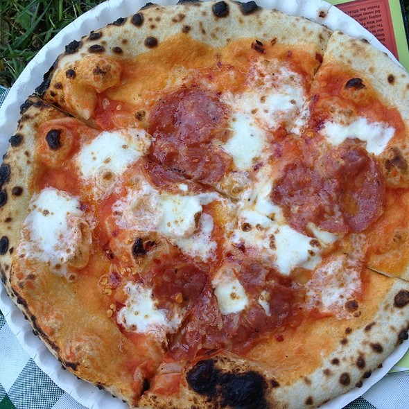 Bee Sting Pizza @ Roberta's