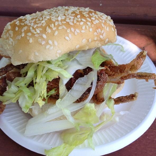 Soft Shell Crab Sandwich @ Vinegar Hill House