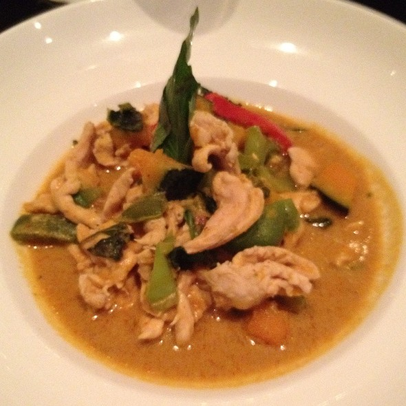 Pumpkin Red Curry @ Room Service