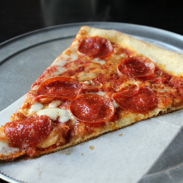 Pepperoni Slice @ Front Street Pizza