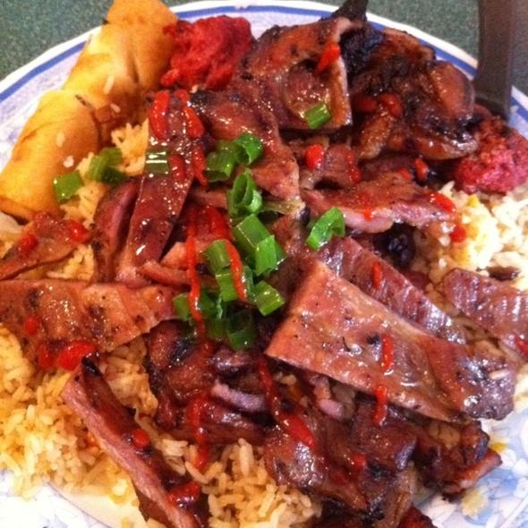 BBQ Pork w/ Fried Rice @ Tu-Do Vietnamese Restaurant