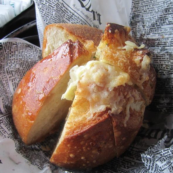 Homemade Garlic Bread w/ Asiago Cheese - Salt Creek Grille - Rumson, Rumson, NJ