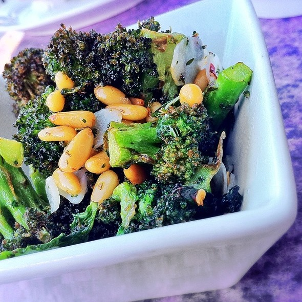 Caramelized Broccoli  @ Lazy Ox Canteen