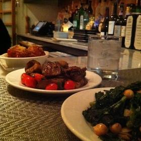 Veggies And Meatballs - Bin 14, Hoboken, NJ