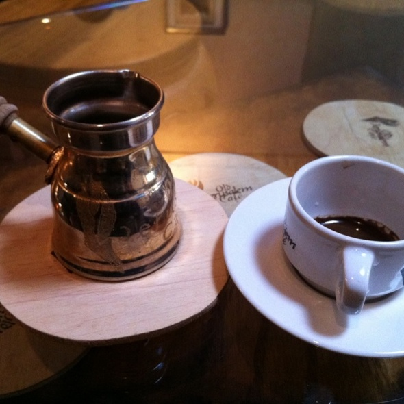 Arabic coffee @ Old Jerusalem Cafe