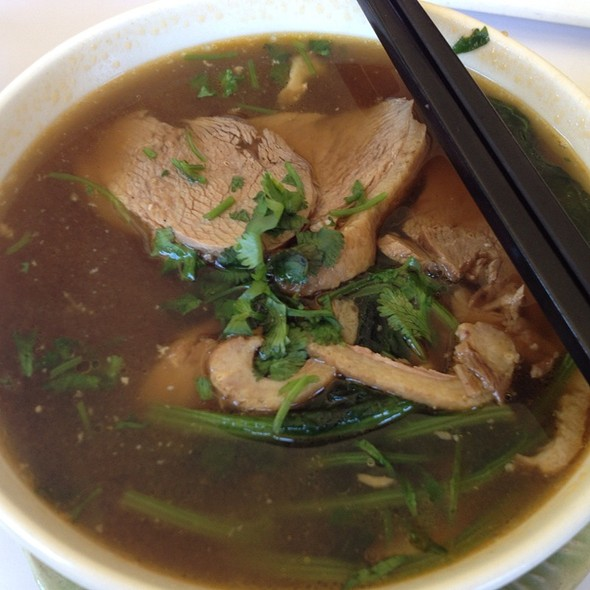 duck noodle soup @ Koh Samui & the Monkey