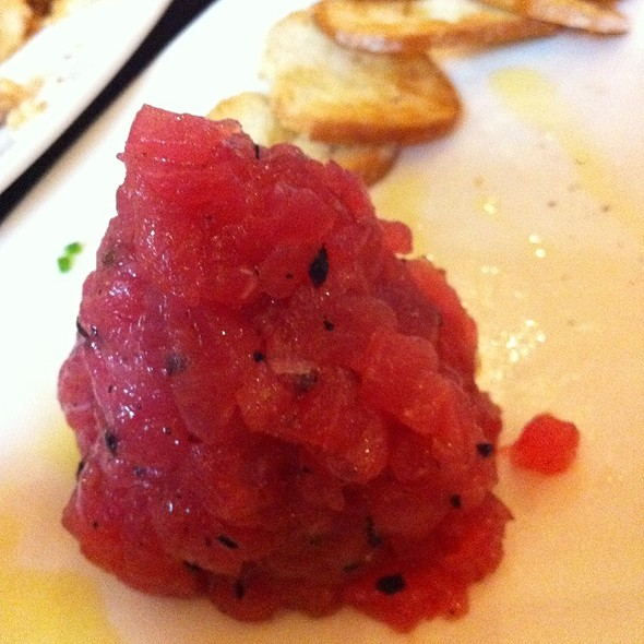 Tuna Tartare With Black Truffle @ Asellina Ristorante