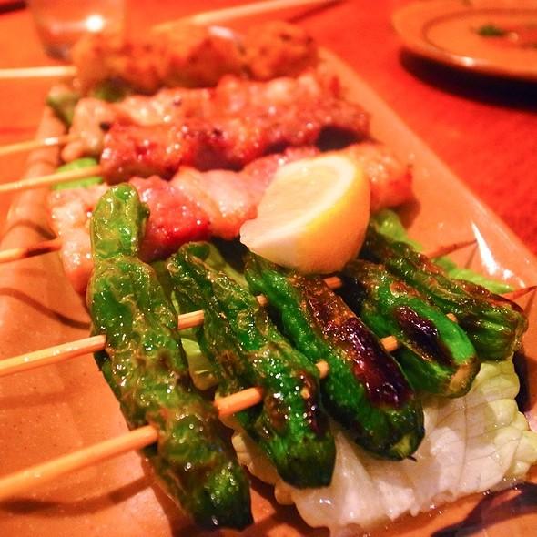 Grilled Asparagus @ Sake Bar Hagi