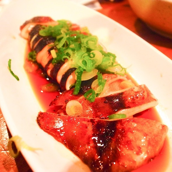 Teriyaki Squid @ Sake Bar Hagi