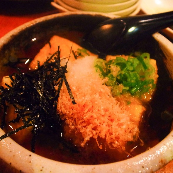 Agedashi Tofu @ Sake Bar Hagi
