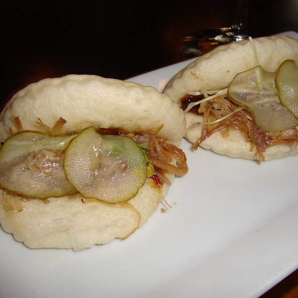 Pulled Pork Steamed Buns