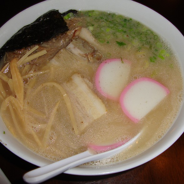 Nabi Ramen in Bacon Broth