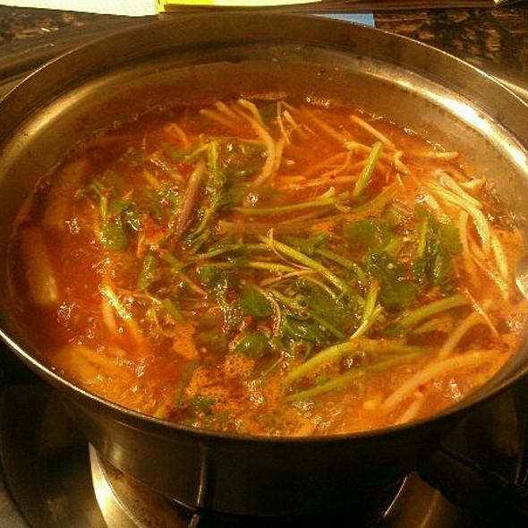 Spicy Blowfish Stew