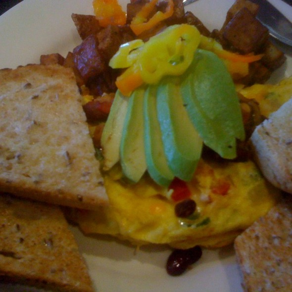 Omelette @ Dairy Lane Cafe