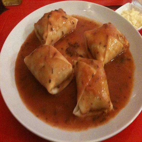 Manicareti De Carne Seca E Abóbora Ao Sugo @ Maria Paula Casa De Café