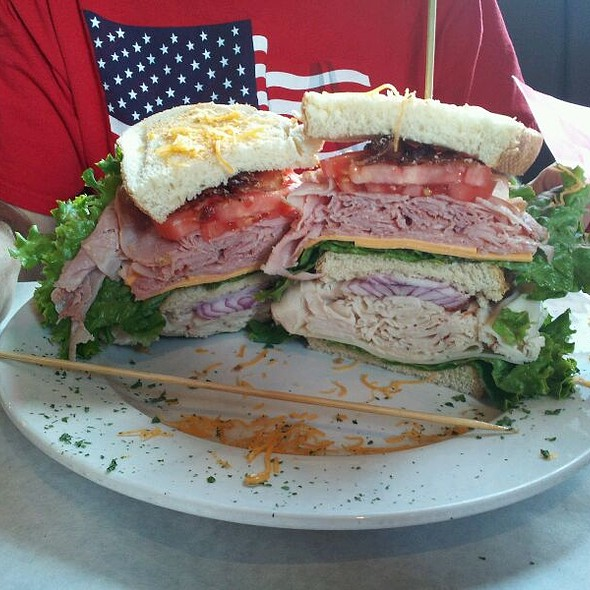 Classic Club Sandwich @ Tinitique Cafe & Tavern
