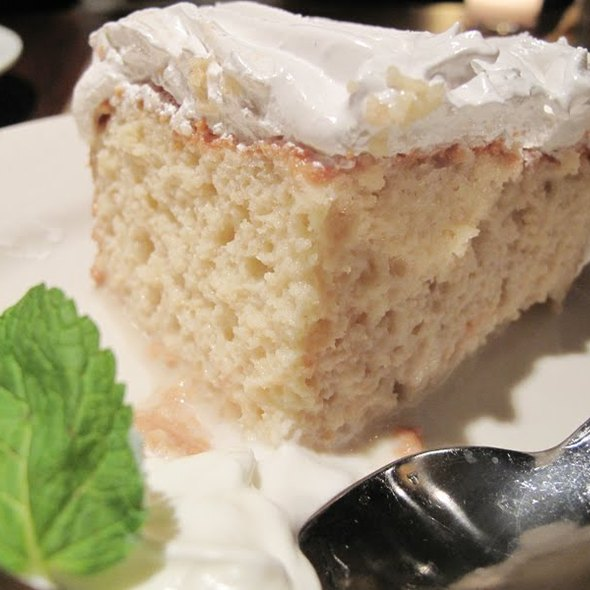Tres Leche Cake @ Bogota Latin Bistro