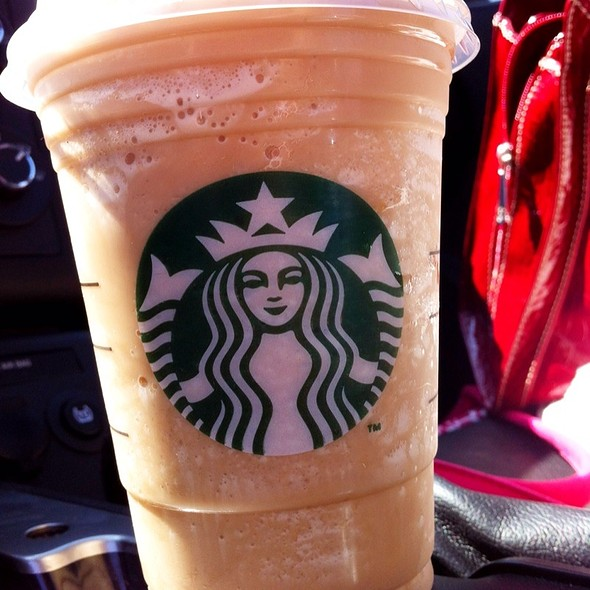 White Chocolate Mocha Frappuccino @ Starbucks