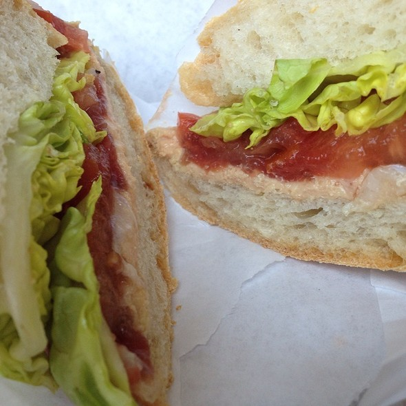 Artisan Foie Gras Torchon & Duck Prosciutto Sandwich @ Naked Lunch