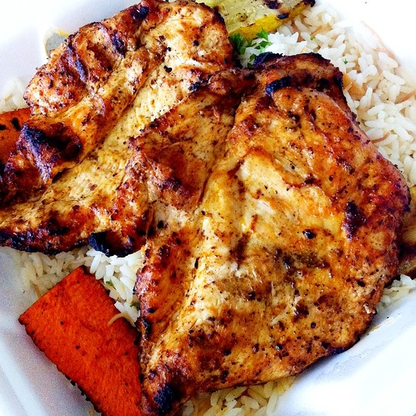 Grilled Half Deboned Chicken @ La Oasis