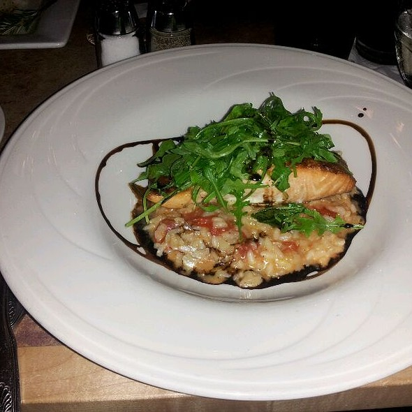 Salmon And Tomato Risotto - MT's Local Kitchen & Wine Bar, Nashua, NH