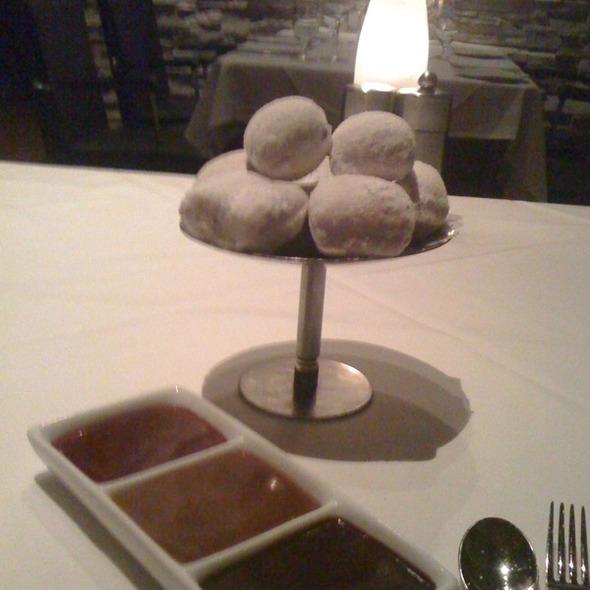Doughnuts Holes - Red, the Steakhouse - Beachwood, Beachwood, OH