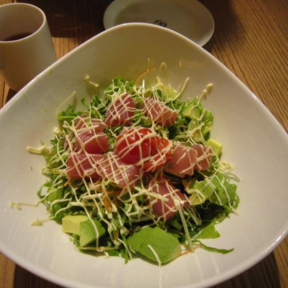 Tuna and Avocado Salad @ Genji Sushi New York