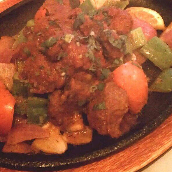 Sizzling Lamb Tarkari @ Everest Cafe & Bar