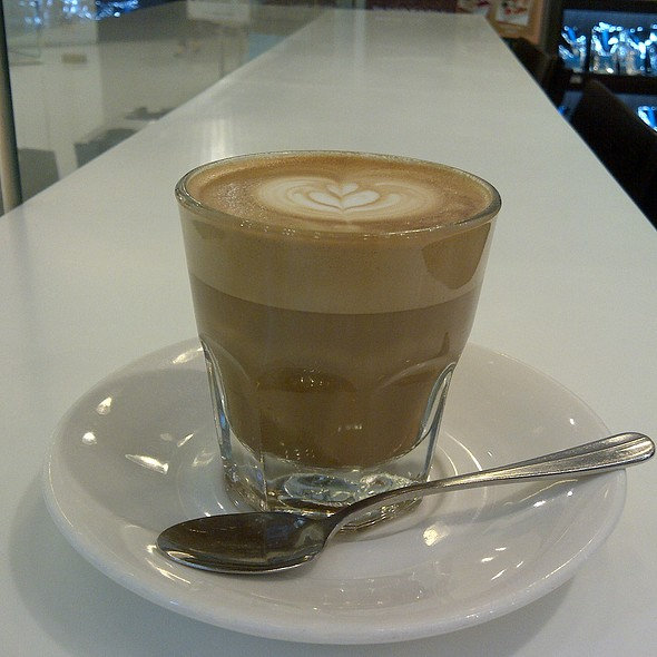 Caffe Latte @ Holly Brown