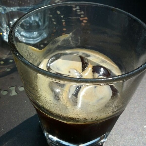 Iced Espresso  @ Tomtom Coffee House