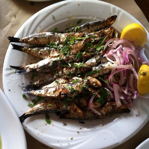 Grilled Sardines @ Konstantaki