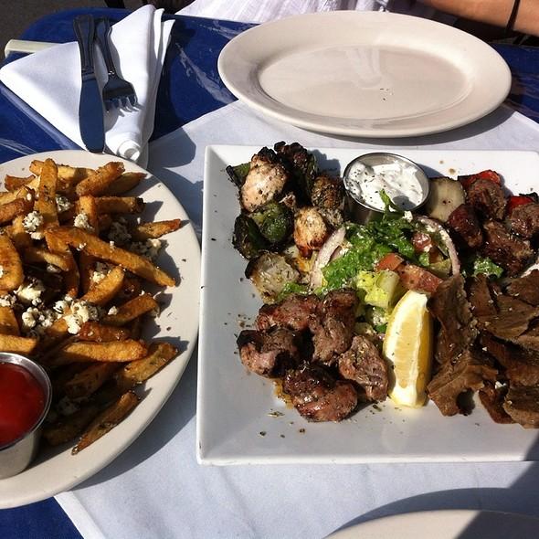 Atenian Meat Platter @ Athena Mediterranean Cuisine
