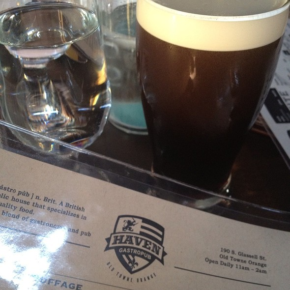 O'hara's Celtic Stout @ Haven Gastropub
