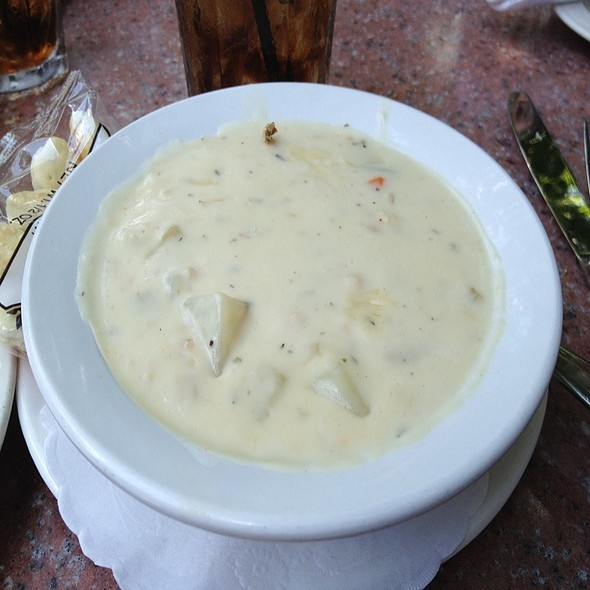 New England Clam Chowder - Gamekeepers Taverne, Chagrin Falls, OH