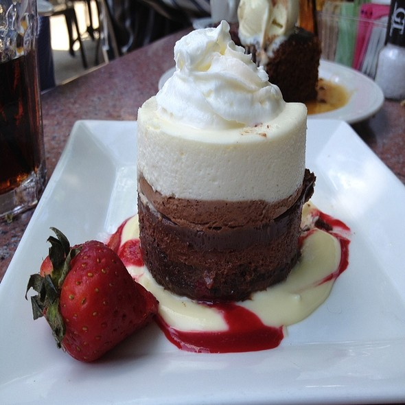 Triple Mousse Torte - Gamekeepers Taverne, Chagrin Falls, OH