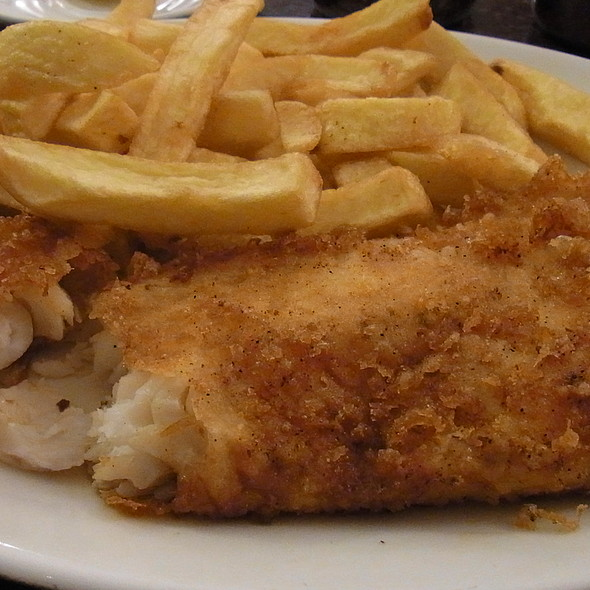 Fish and Chips @ The Golden Hind