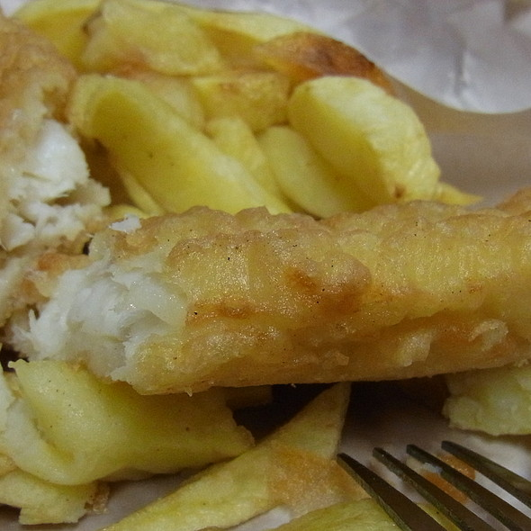 Fish and Chips @ Leo Burdock's