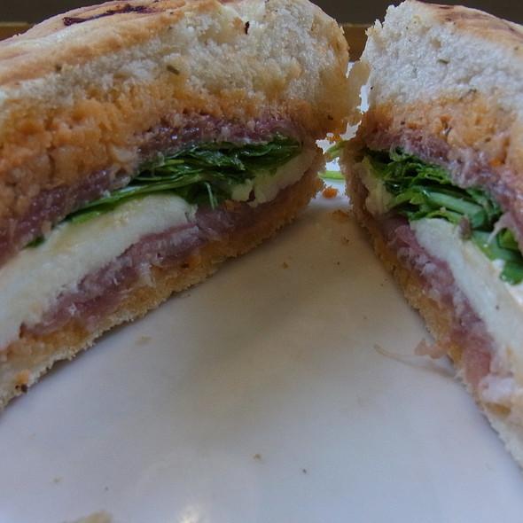 Mozzarella and Parma Ham Panini @ Fallon & Byrne