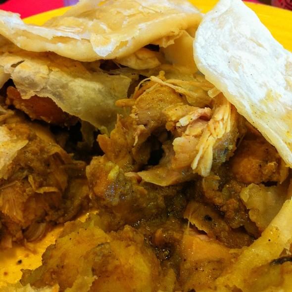 Chicken Roti @ Caribbean Spice