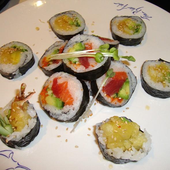 Blue Fish Roll & Tempura Shrimp Roll - The Blue Fish - Washington, Houston, TX