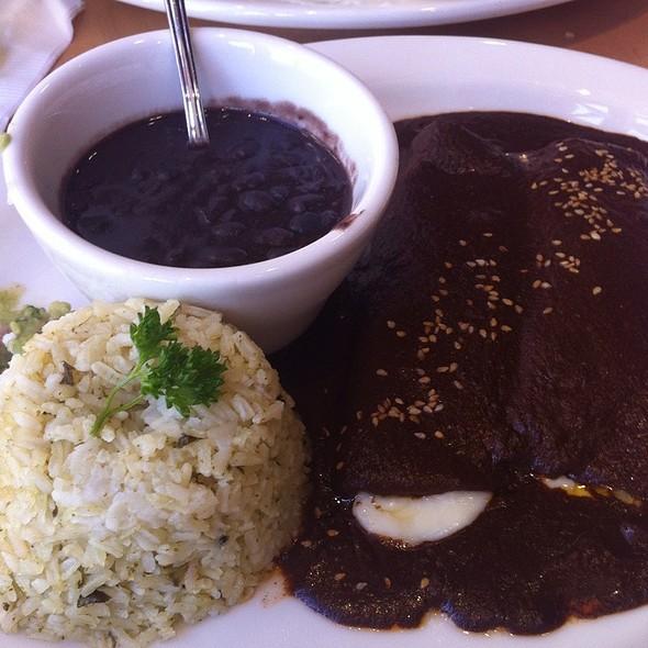 Mole Enchiladas @ Loteria Grill