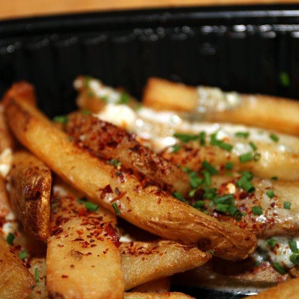Blue Cheese Steak Fries - Morton's The Steakhouse - Anaheim, Anaheim, CA