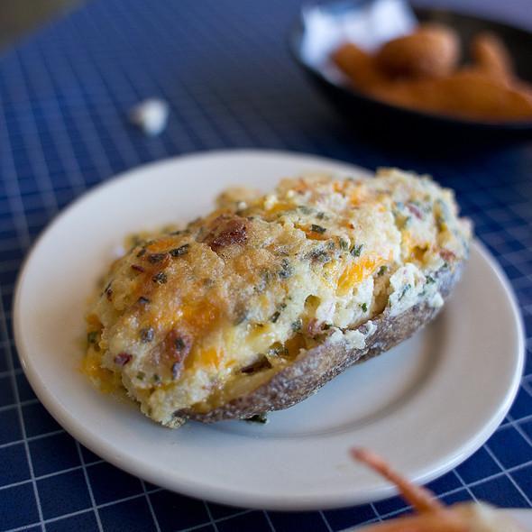 Stuffed Potato @ Sanitary Fish Market & Restaurant