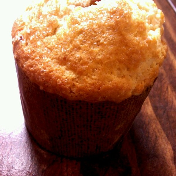 Cherry Vanilla Muffin @ Queen City Bakery