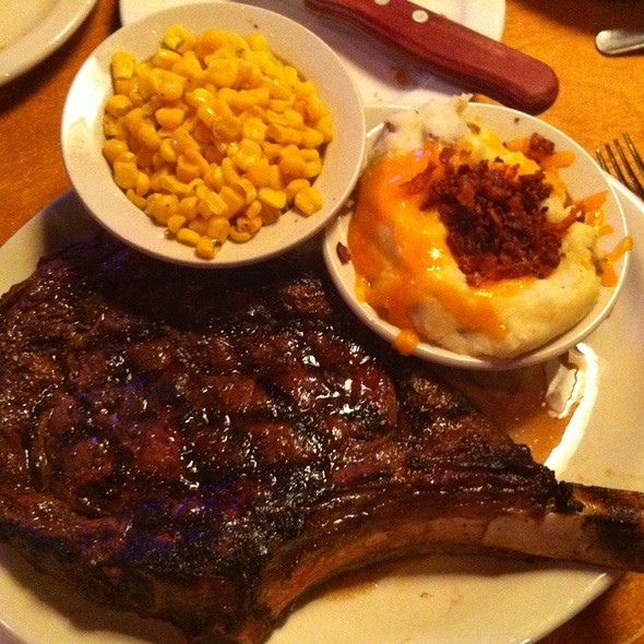 Bone-In Ribeye @ Texas Roadhouse