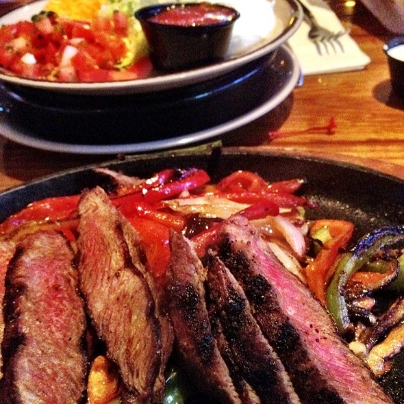 Steak Fajitas @ Miller's Ale House Restaurants