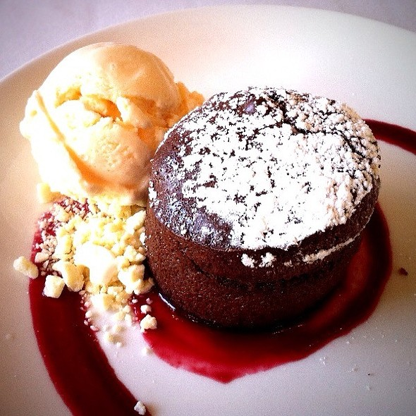 Roy's Melting Hot Chocolate Souffle