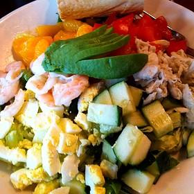 Seafood Chopped Salad Crab, Shrimp, Feta Cheese And Greek Vinaigrette