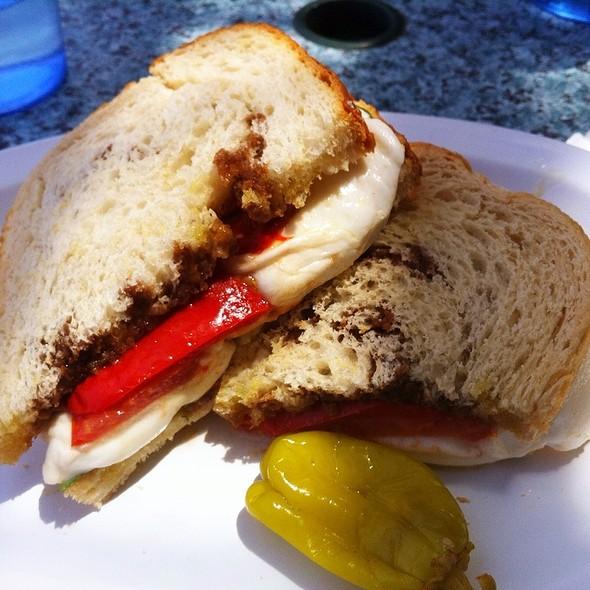 Tomato, Basil & Fresh Mozzarella Sandwich @ DeFalco's Italian Deli & Grocery