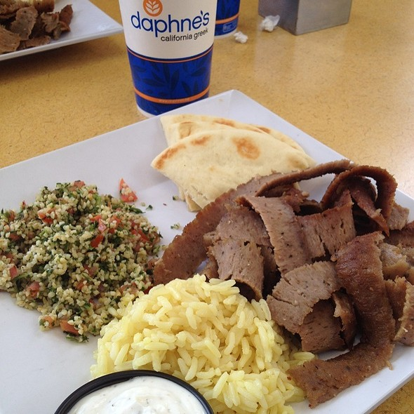 Gyros @ Daphne's Greek Cafe